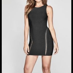 MARCIANO Bandage Dress w/cutout detail